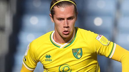 Todd Cantwell is not involved for Norwich at Bournemouth, amid transfer links to Leeds Picture: Paul