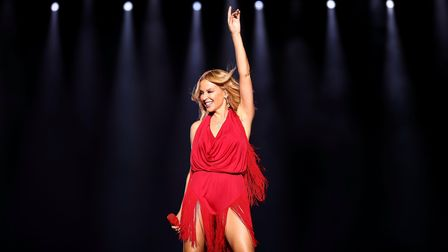 Defying Expectations: Kylie Minogue on stage in Singapore in 2016