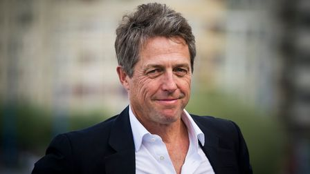 Hugh Grant attends a photocall for 'Florence Foster Jenkins (2016)' at the San Sebastian Film Festival