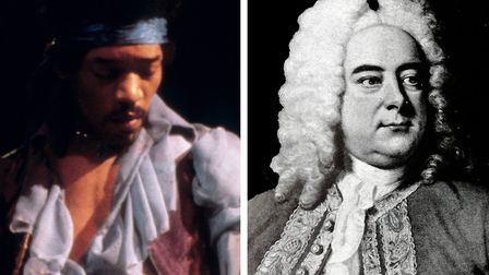 Jimi Hendrix and Handel
