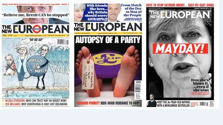 How we called it right: The front pages that foretold the collapse of UKIP and the Tory crisis.