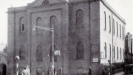 THE WAY IT WAS...the former church on the corner of Dene Side and Regent Road.Pictures: SUBMITTED