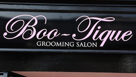 Emma Goffin is opening an independent dog grooming salon called Boo-Tique on Bridge Road.Picture: Ja
