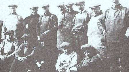 MAINTOP SKIPPERS: some of Bloomfields' legends in the 1930s, with names like Peek, Haylett, Brown, S