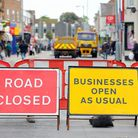 Gorleston High Street closed to all traffic after a hole appeared in the road on Friday afternoon.Th
