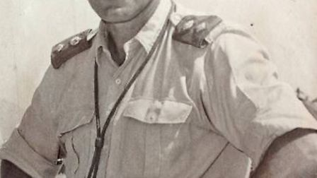 GALLANT LEADER: Yarmouth-educated Major-General Jack Dye who has died, aged 93.Picture: SUBMITTED