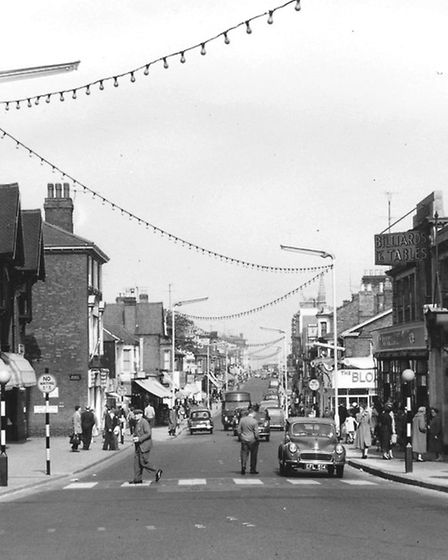 MAIN BEFORE THE RAZZMATAZZ...Great Yarmouths Regent Road, the vital link between town centre and sea