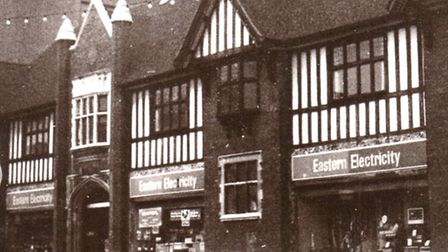 ELEGANCE...BUT MOCK! The Tudor timbered look of Electric House, supplier's offices and showrooms, d
