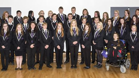 Thetford Academy's prefects