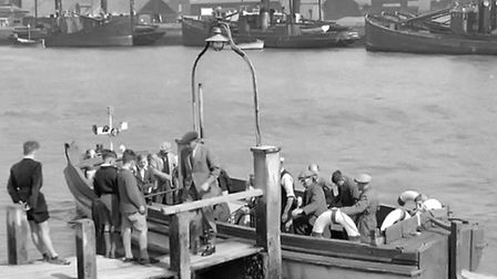 VITAL AMENITY: the cross-river lower ferry, used by South Denes workers who lived in Gorleston. This