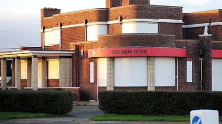 The former Iron Duke pub on North Drive in Great Yarmouth which has stood empty for many years.Pictu