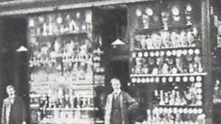 PLEDGING PLACE...the front of the Marsh/Colledge pawnbroker premises in King Street, Great Yarmouth,