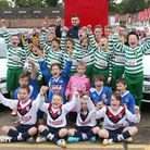 Carl Jenkinson visits the youth teams. Picture: Jacob Ebrey.