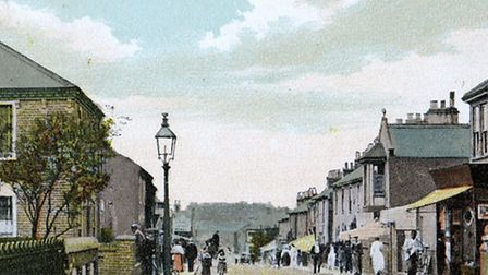 MAINONLY A SHORT STROLL..: From Bells Road, Gorleston, to the White Lion Hotel where traders and oth