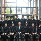 New special constables being sworn in at Norfolk Police.