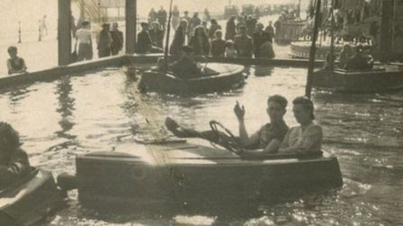 NEVER-FORGOTTEN FAVOURITE: Water Dodgems similar to the Pleasure Beach attraction fondly recalled fr