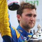 Winner of race 11 of the British Touring Cars championships at Snetterton, Andrew Jordan. Picture: D
