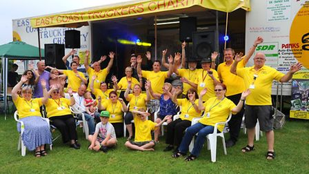 East Coast Trucker hold their first fundraising festival at The Angel in Larling.