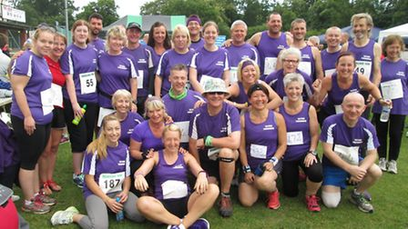 Over 35 Thetford Parkrun members took part in the East Harling 10K.