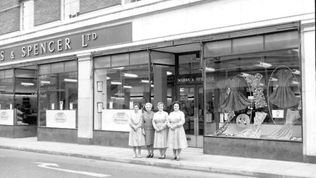 Flashback to M&S in 1962.