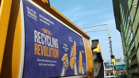New look waste lorries for Breckland