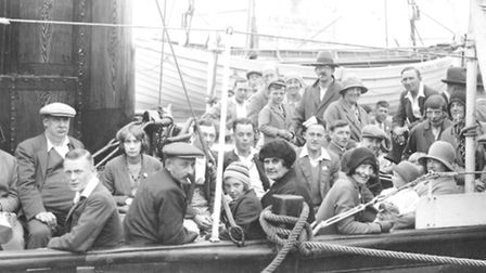 BRINY BECKONS: trippers on the United Service prepare for a jaunt down-river and out to sea.Picture:
