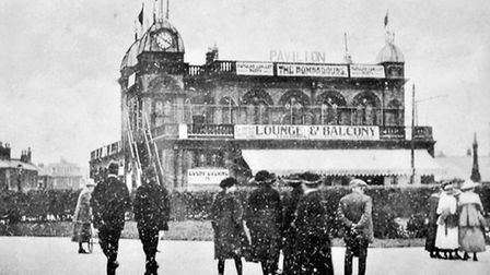 LONG FUTURE AHEAD...Gorleston Pavilion, pictured soon after it opened in 1900, continues to provide