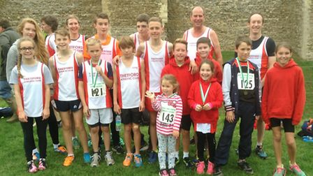 Athletes from Thetford AC took the fields of Suffolk as they competed in the first of this season's