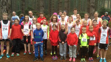Thetford Athletics Club took a team of 34 athletes to the latest round of competition through the fo