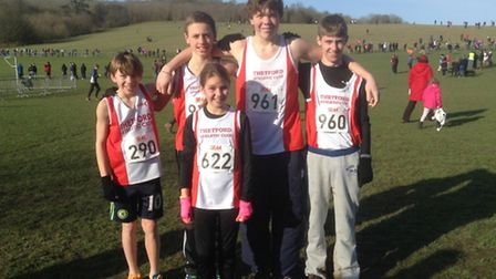 Six athletes from Thetford Athletics Club took part in the South of England Cross Country Championsh