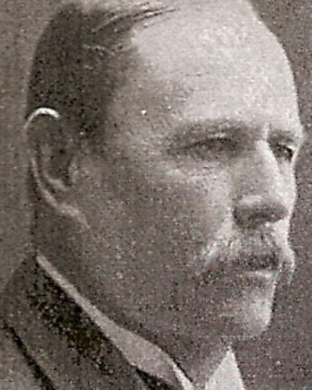 FIRST OCCUPANT: Edward Combe, the wealthy businessman who built Ferryside as his family home in the