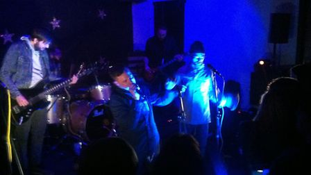 Franko Fraize performs at The Dolphin in Thetford
