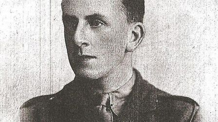 FLYING VICTIM: Second-Lieutenant John Sleeman Reed.Picture: SUBMITTED