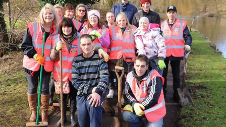 The volunteers from The Sex Rock and Roll and a Weeding group in Thetford.Picture by: Sonya Duncan