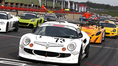 Norfolk's Lotus marque headlines the action at Snetterton on 4 April.