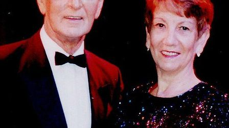 ON THE TOWN: amateur theatricals enthusiasts David and Linda Applethwaite. Picture: SUBMITTED