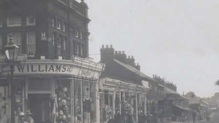 BEFORE OUR TIME...Bells Road in Gorleston, possibly a century ago.Picture: PETER JONES COLLECTION