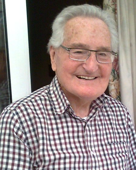 ALL IN THE FAMILY: Don Bullard, now 88, who loved his years in the bakery business.Picture: SUBMITTE