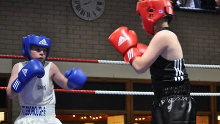 Charlie Connaughton in action against Patrick Doherty.