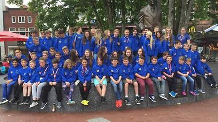 More than 50 youngsters took part in Brandon Town Youths tour to Holland.