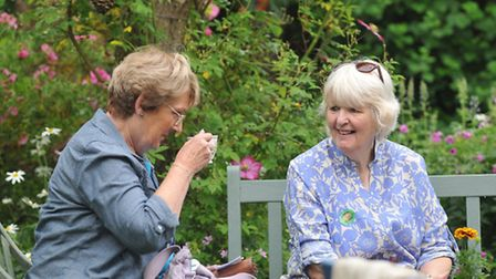 The annual Thetford Open Gardens Event 2015.