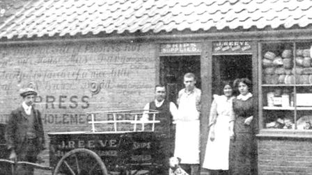 ANOTHER CLAIMANT: Joseph Reeves bakery in Camden Road, Great Yarmouth, which survived until the 1920