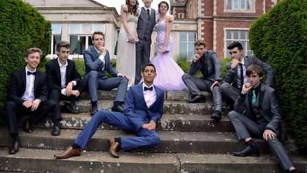 Thetford Academy prom, held at Lynford Hall on July 16, 2015.