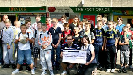 Thetford Community Association has received £4,500 from the Breckland Youth Advisory Board.