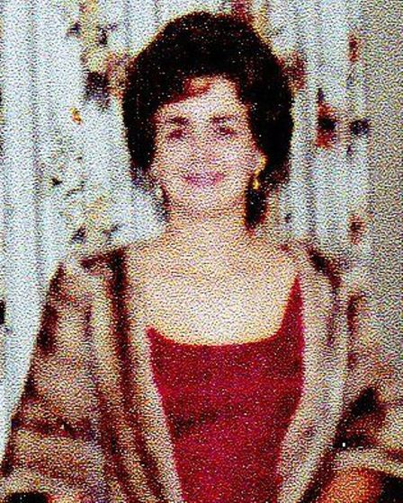 READY FOR AN EVENING OUT: Ruby Thompson (née Hall) at her home in Nassau in 1965.Picture: SUBMITTED