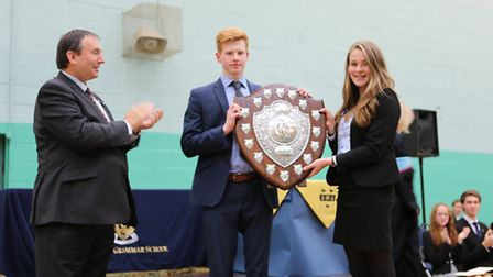 Awards handed out at Thetford Grammar School's speech day