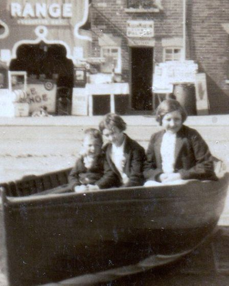 MEMORY JOGGER: part of my recent picture of Quay Road, Gorleston. A correspondent's mother, then a s