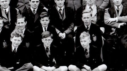 MUSIC LOVERS: Great Yarmouth Grammar School headmaster Alan Palmer (right), and music and geography