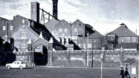 CHEERS? Not necessarily. Lacons Brewery at it once looked in the town centre. It was acquired by Whi