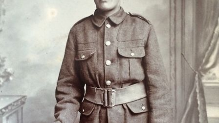 YOUNG AND FOOLISH? Yarmouth youth George Carr was only 14 when he lied about his age and volunteered